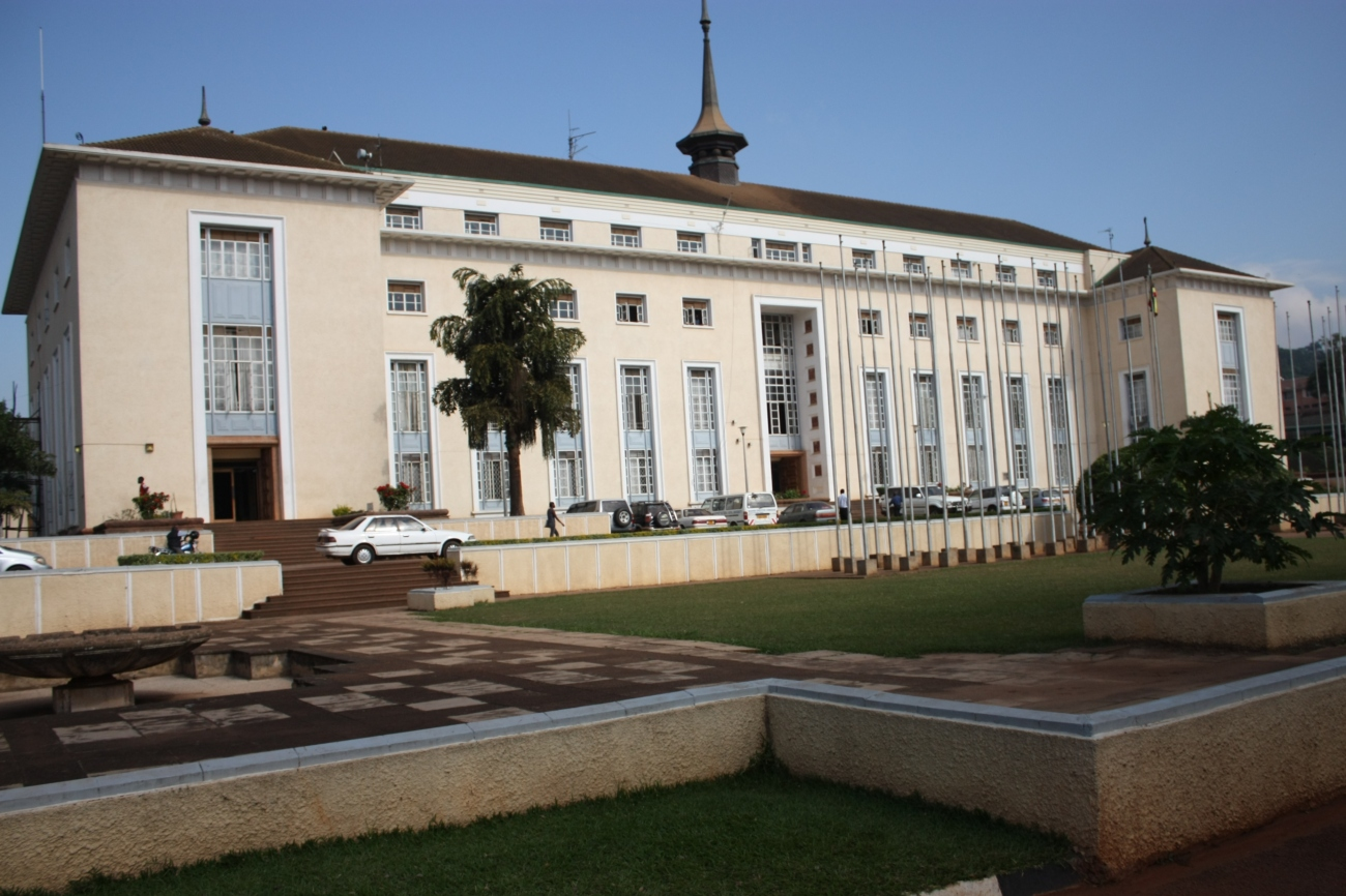 Bulange that houses the parliament of the Kingdom of Buganda in Lubiri, Kampala