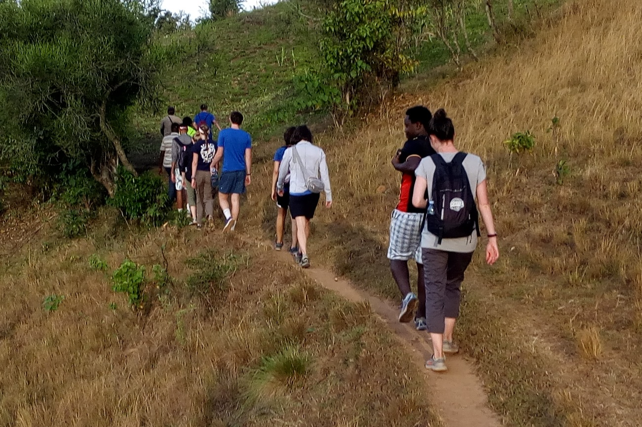 Hiking western Uganda