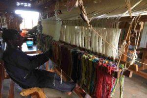 Kilombera local weavers Jinja Uganda