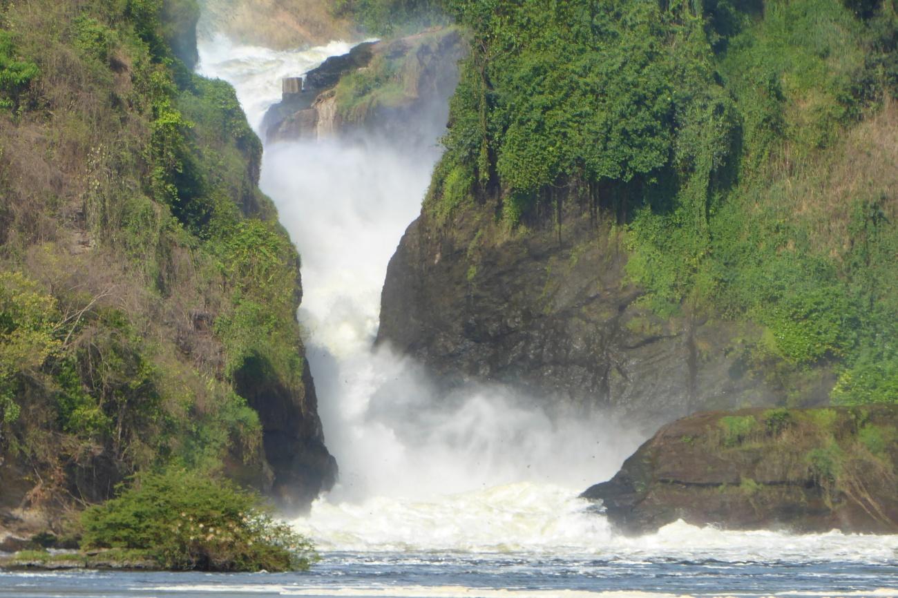 Murchison falls on river Nile
