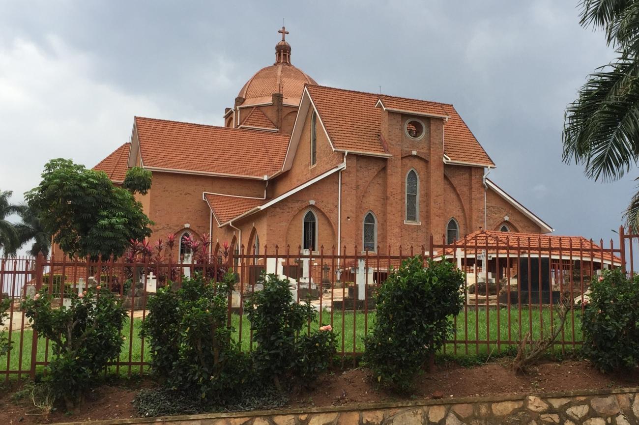 Namirembe cathedral Kampala Uganda