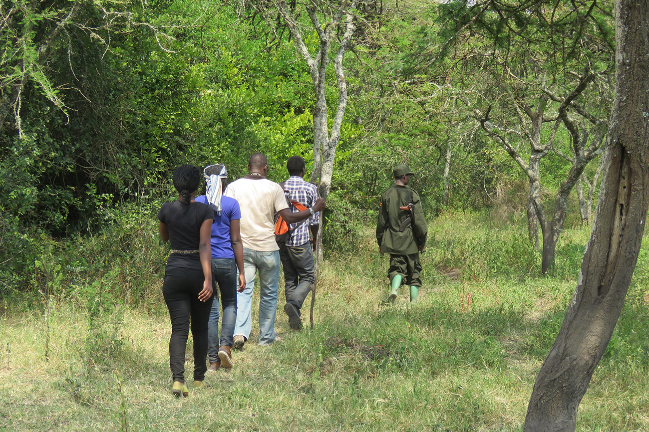 Nature walk Lake Mburo Uganda
