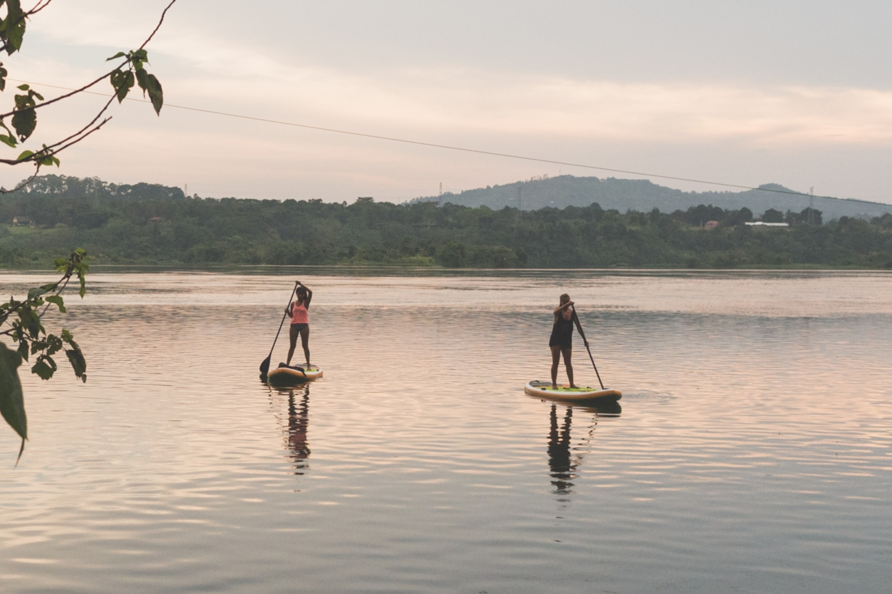 SUP on river Nile 01