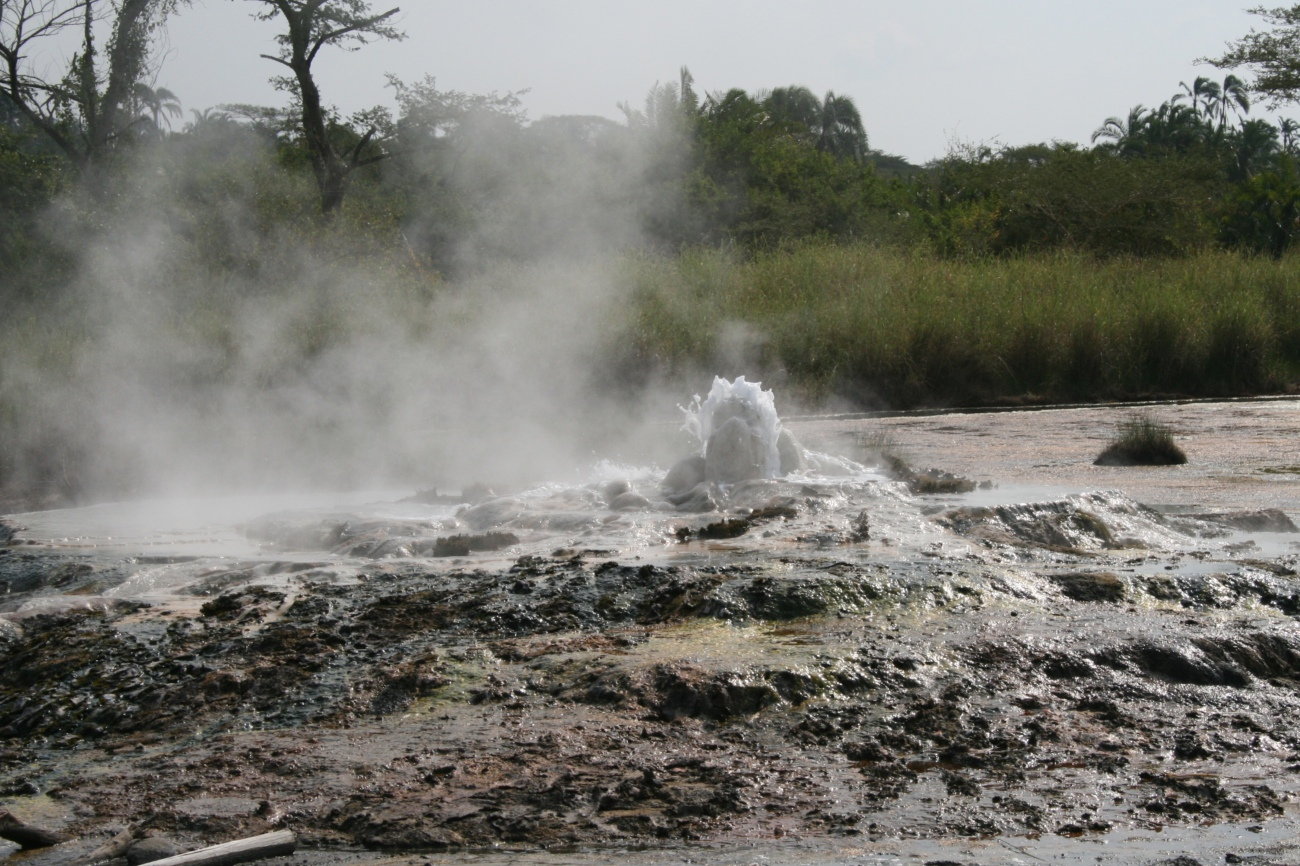 Sempaya hot spring, Semuliki National Park