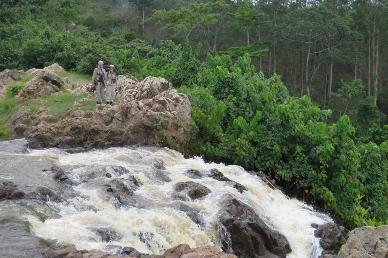 Top of Sezibwa falls Uganda