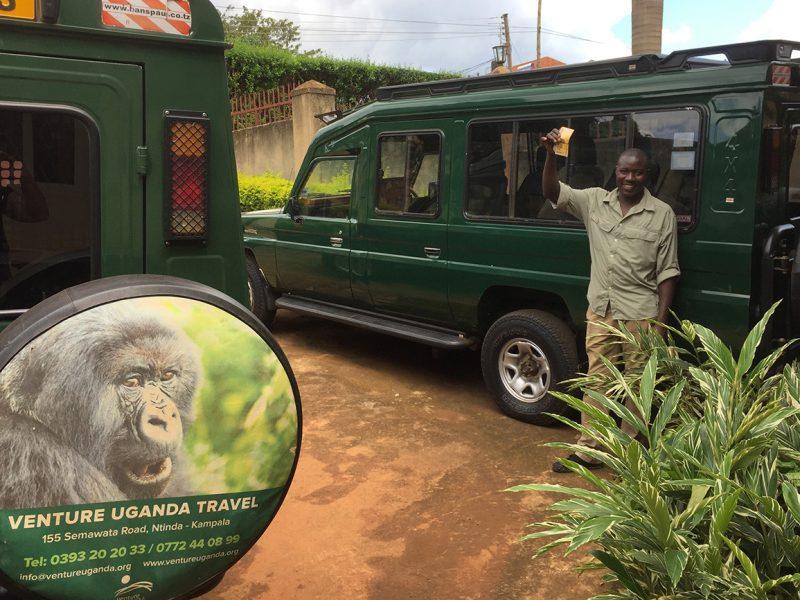 Venture Uganda team, Ronald