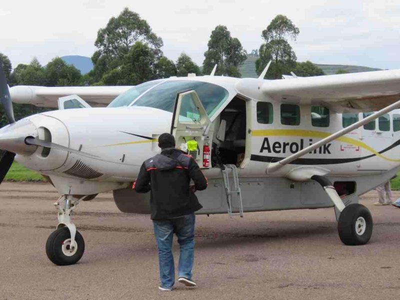 Domestic flight in Uganda