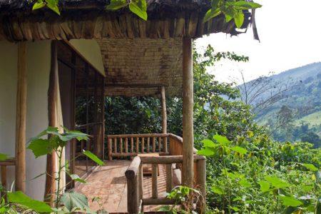 Engagi Lodge in Uganda's Bwindi Impenetrable Forest National Park.