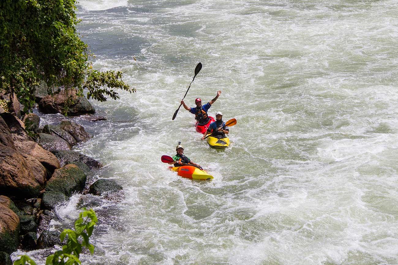 Kayaking Nile Uganda in Jinja Uganda
