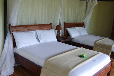 Mahogany Springs Lodge twin beds