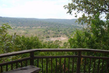 Eco-friendly Mihingo Lodge near Lake Mburo.