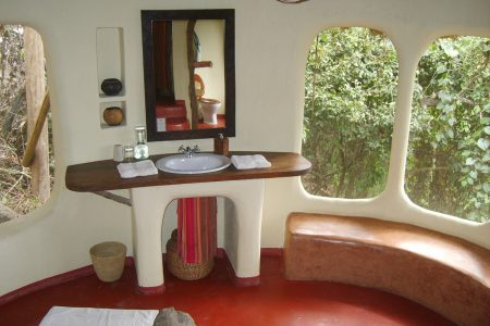 Eco-friendly Mihingo Lodge near Lake Mburo.