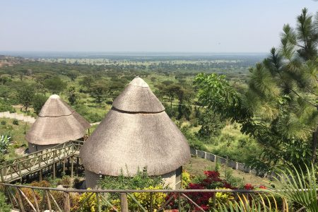 Park View Safari Lodge cottages, Queen Elizabeth National Park, Uganda