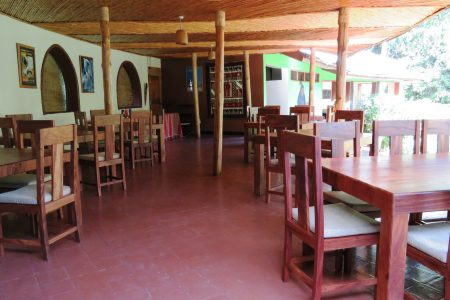 Primate Lodge restaurant, Kibale