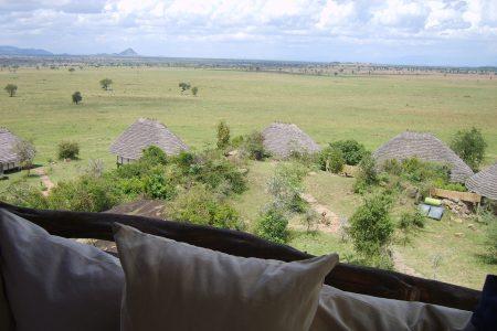 Scenic view of Kidepo national park from Apoka Safari Lodge, Uganda
