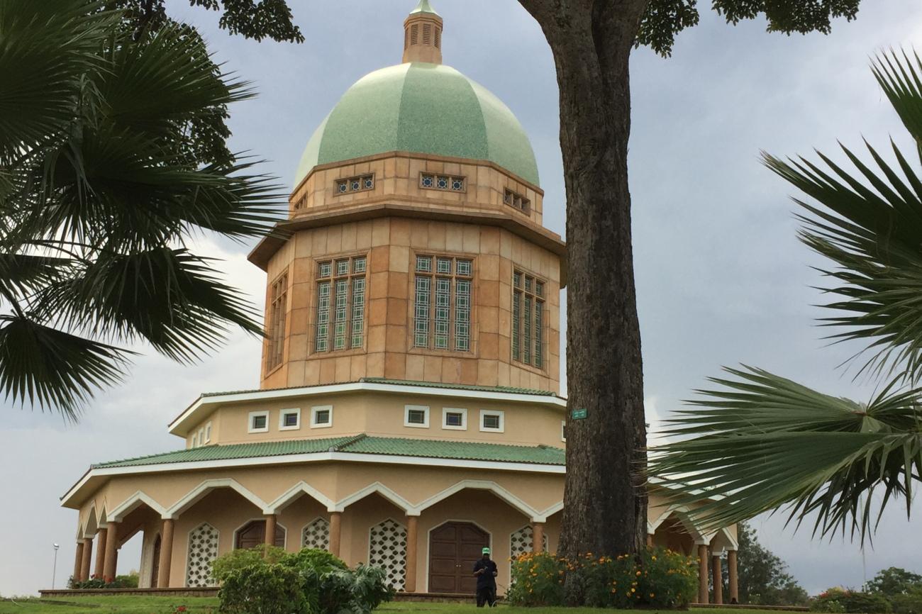 Bahai temple in Kampala Uganda