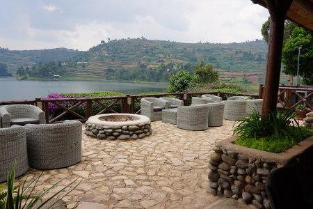 Bird Nest Resort, Lake Bunyonyi, Uganda.