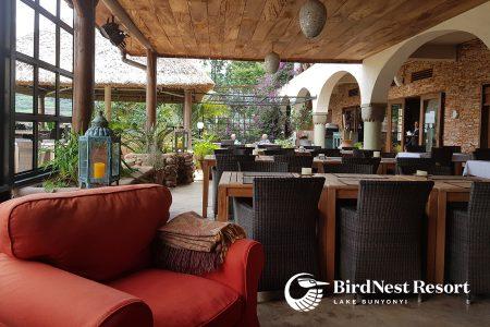 Bird Nest Resort, Lake Bunyonyi, Uganda.