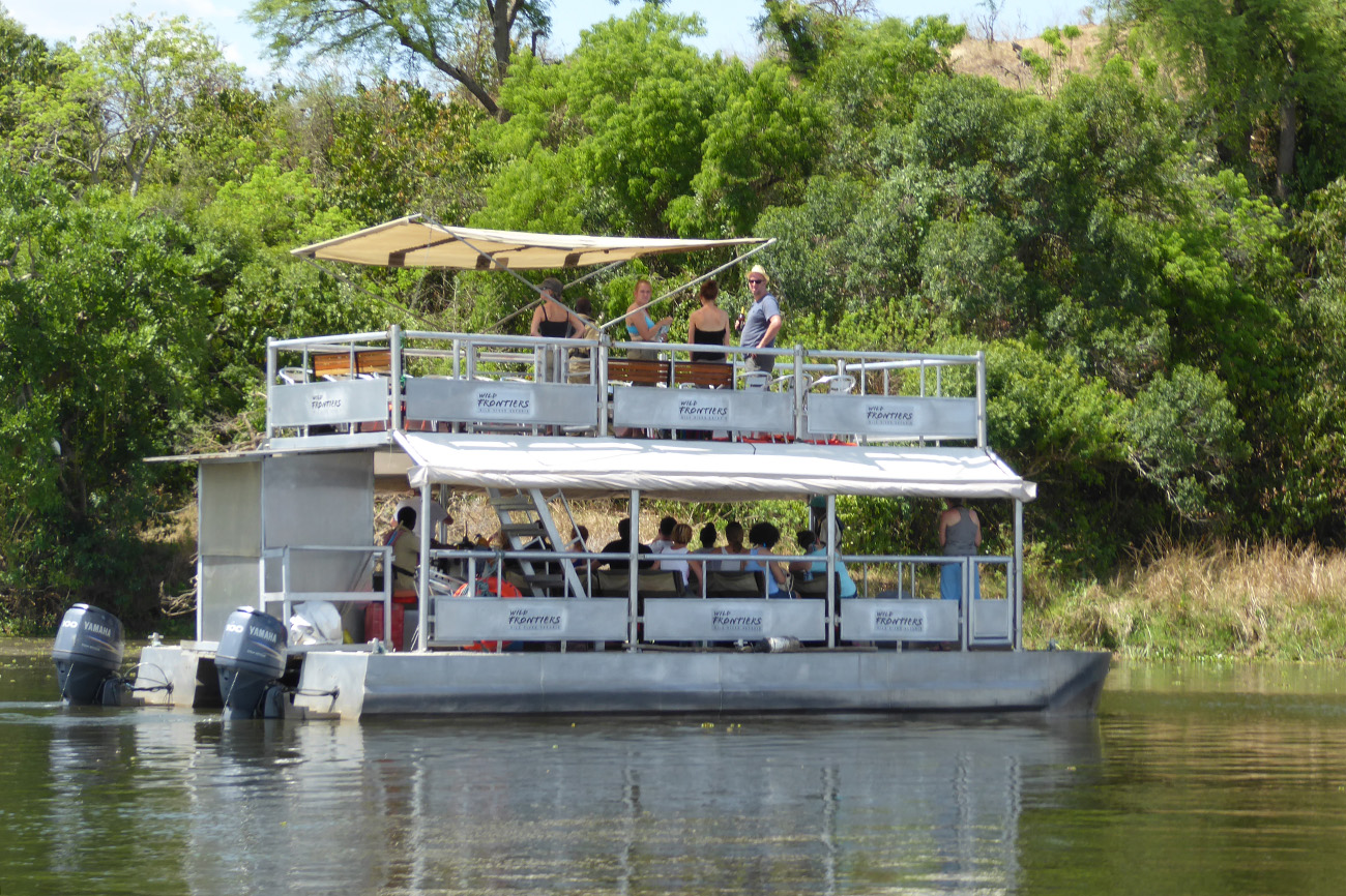 Boat Safari in Murchison Falls National Park, Uganda
