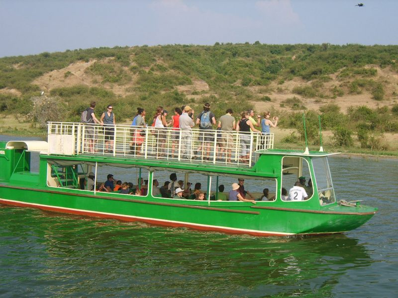 Boat cruise on the Kazinga channel
