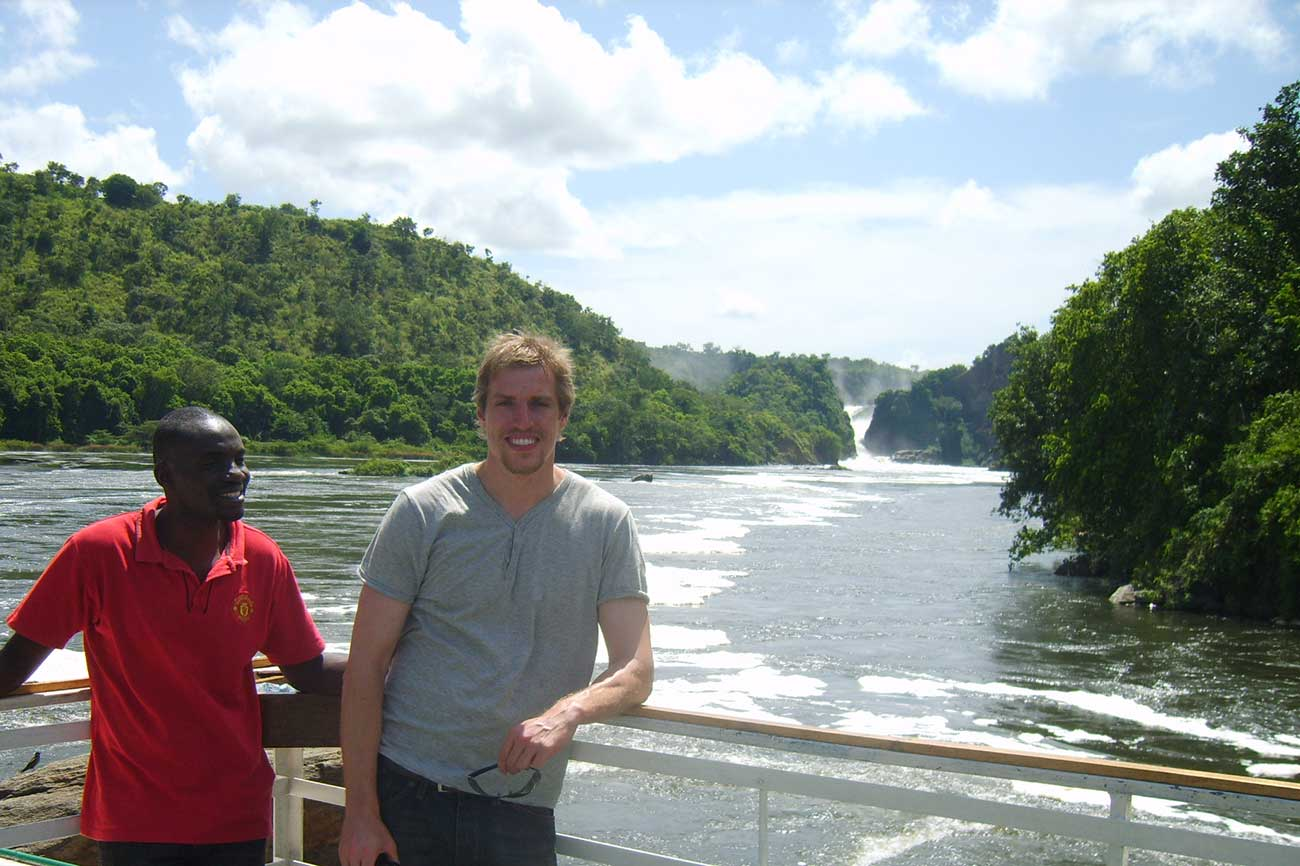 Boat cruise on the Nile to Murchison Falls, Uganda.