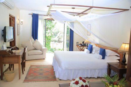 Emin Pasha Hotel double room, Kampala, Uganda