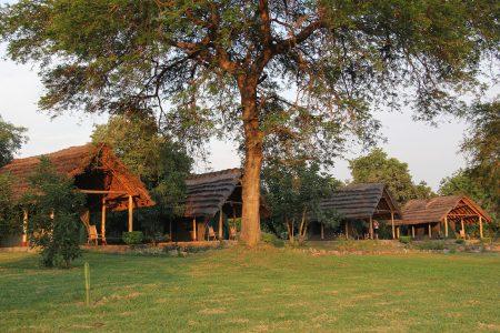Fort Murchison tents, Murchison Falls national park, Uganda