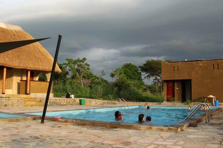 Fort Murchison pool side, Murchison Falls national park, Uganda