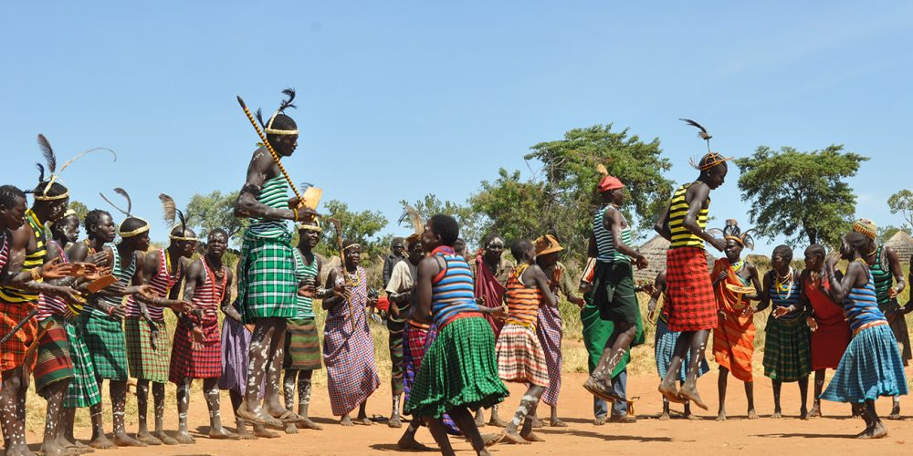 Karamojong cultural dance Uganda