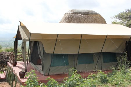 Kidepo Savannah Lodge tent