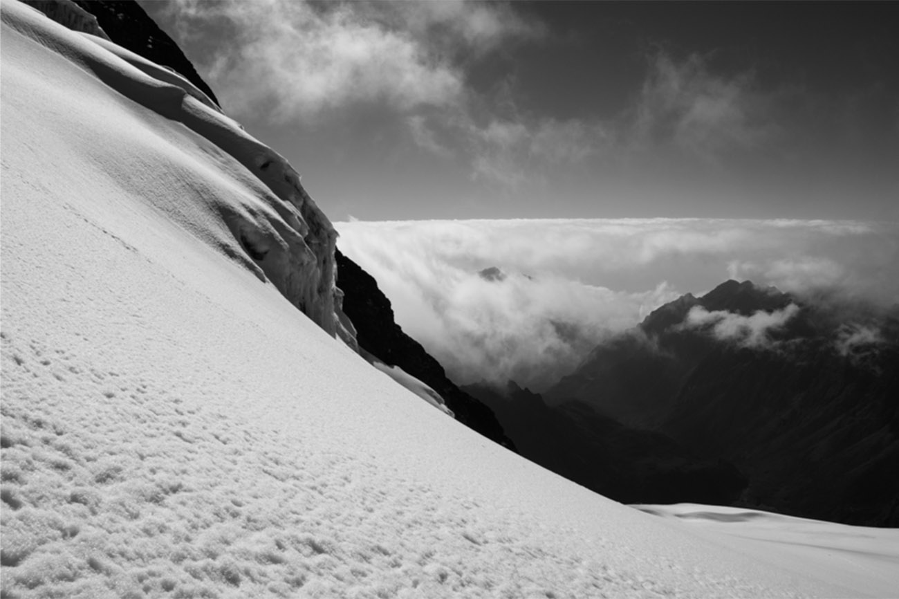 Snow capped Mount Stanley Trek Uganda
