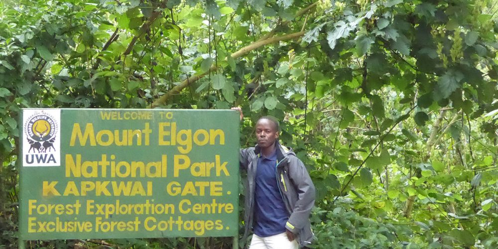 Mount Elgon National Park in Uganda.