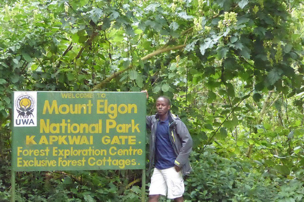 Mount Elgon National Park in Uganda.