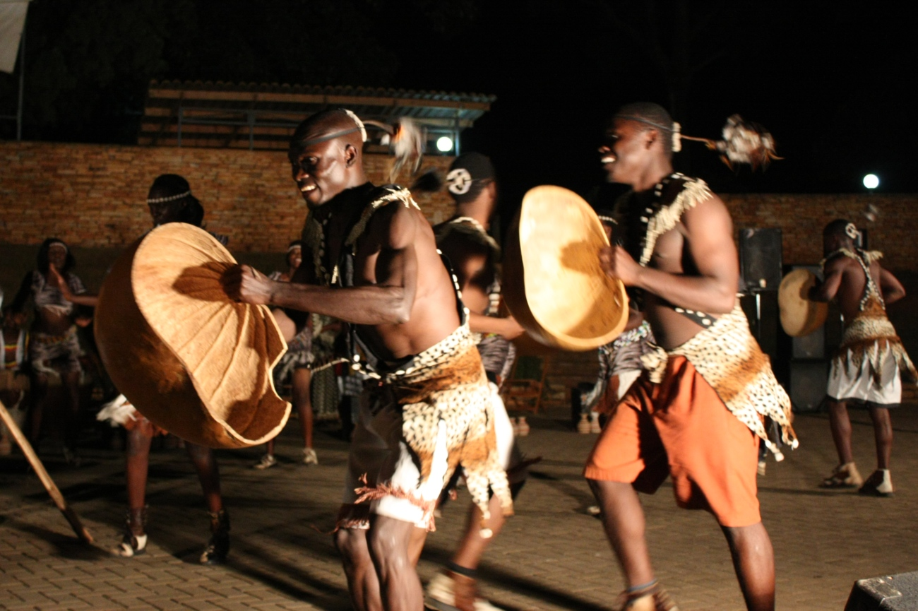Ndere troupe traditional performance kampala