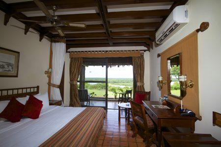 Paraa Safari Lodge double suite, Murchison Falls national park, Uganda