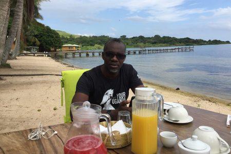 Pineapple Bay breakfast Sese Island, Uganda