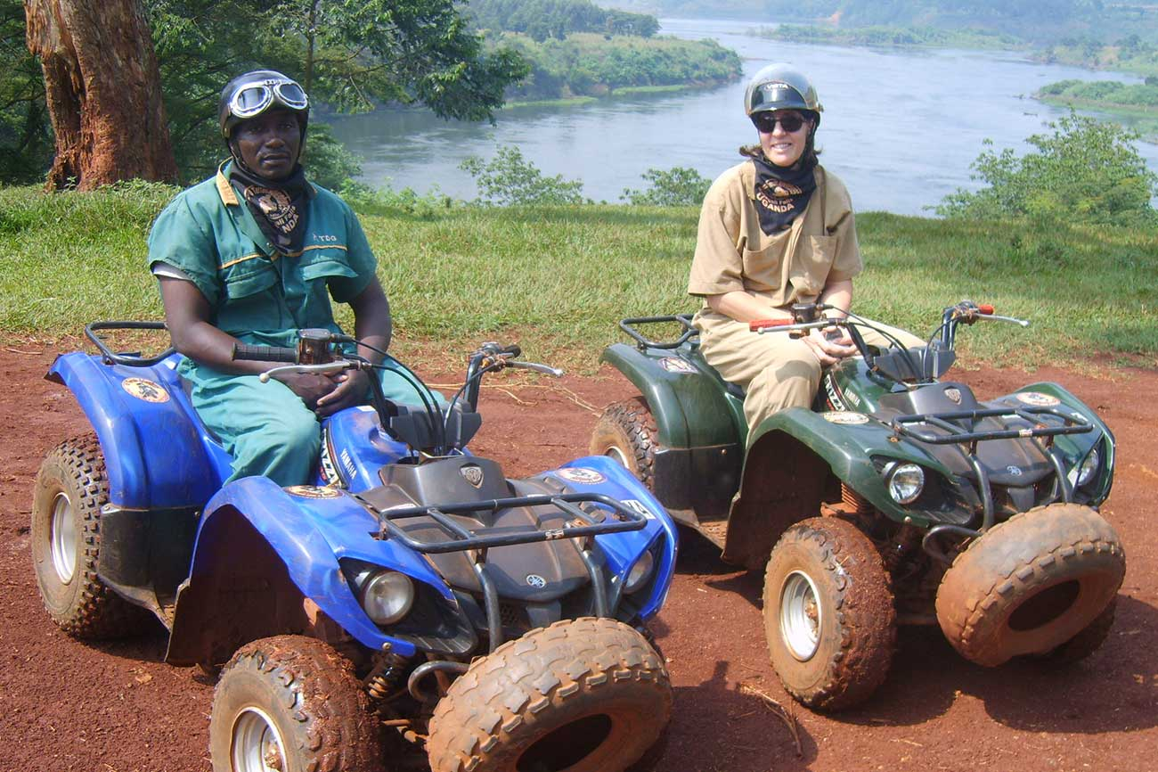 Quad Biking in Jinga, Uganda