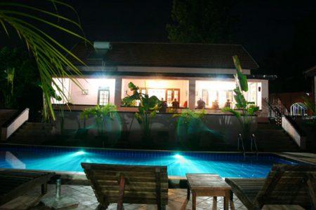 The Boma hotel pool side, Entebbe, Uganda