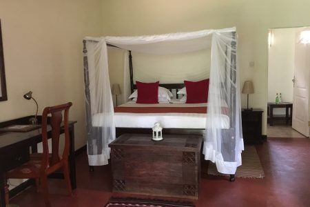 The Boma hotel double room, Entebbe, Uganda