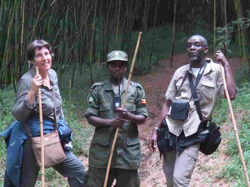 Venture Uganda directors on a hiking safari in Uganda