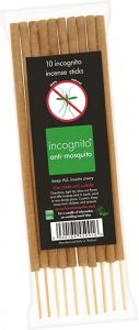 Incognito Anti-Mosquito Incense Sticks 10 sticks