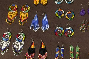 Uganda jewellery made out of beads