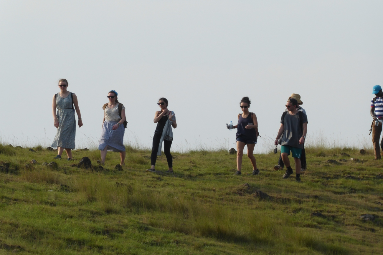 Discovering Uganda's Country side on a group hiking trip